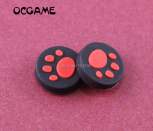 OCGAME Protective Silicone 3D Joystick Buttons For PSV 1000 2000 Grip Analog Cap Cover For PS Vita PSV1000/2000 PSVITA 100pcs