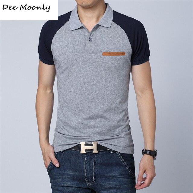 ДИ MOONLY Марка Лучшие качества марка поло человек поло мужские известный бренд мужская повседневная поло ralphly мужчины хлопчатобумажную рубашку мужской