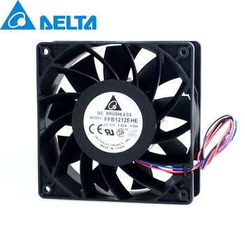 Fan 12CM best FFB1212EHE 120x120x38mm  super large volume 3A violence 200CFM 3 lines