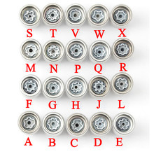 "1Pcs Tire anti theft screw disassembly tool key sleeve For Audi A1 A5 A3 A4L A6L A7 Q3 Q5 A8 TT R8 ""ABCDEFGHJLMNPQRSTVWX"""