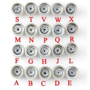 "Image 1 - 1Pcs Tire anti theft screw disassembly tool key sleeve For Audi A1 A5 A3 A4L A6L A7 Q3 Q5 A8 TT R8 ""ABCDEFGHJLMNPQRSTVWX"""