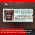 B14 Common Rail Инжектор регулировочные шайбы прокладки комплекты для ремонта прокладок для Bos/chDen/so B14 100 шт./лот