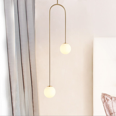 Nordic Glass Ball Pendant Lights Modern Creative Pendant Lamp Bar/Cafe/Kitchen/Living Room Home Lighting Suspension LuminairesNordic Glass Ball Pendant Lights Modern Creative Pendant Lamp Bar/Cafe/Kitchen/Living Room Home Lighting Suspension Luminaires