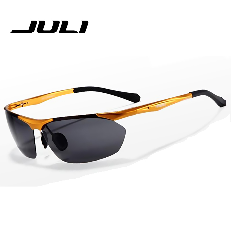 Slitiny polaroid módní zrcadlo sluneční brýle muži gafas oculos de sol masculino značka polarizované sluneční brýle muži muž 8543C