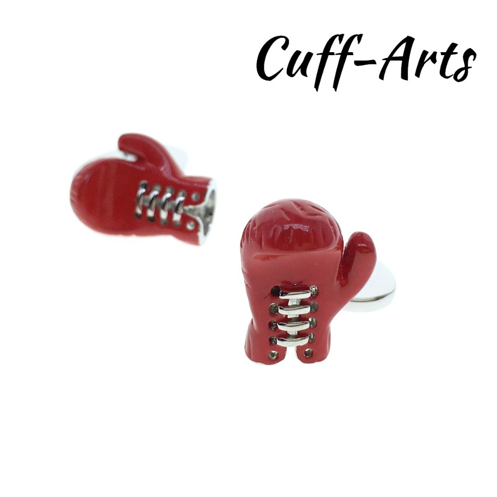 Cufflinks for Men Boxing Gloves Mens Cuff Jewelery Gifts Vintage by Cuffarts C10308