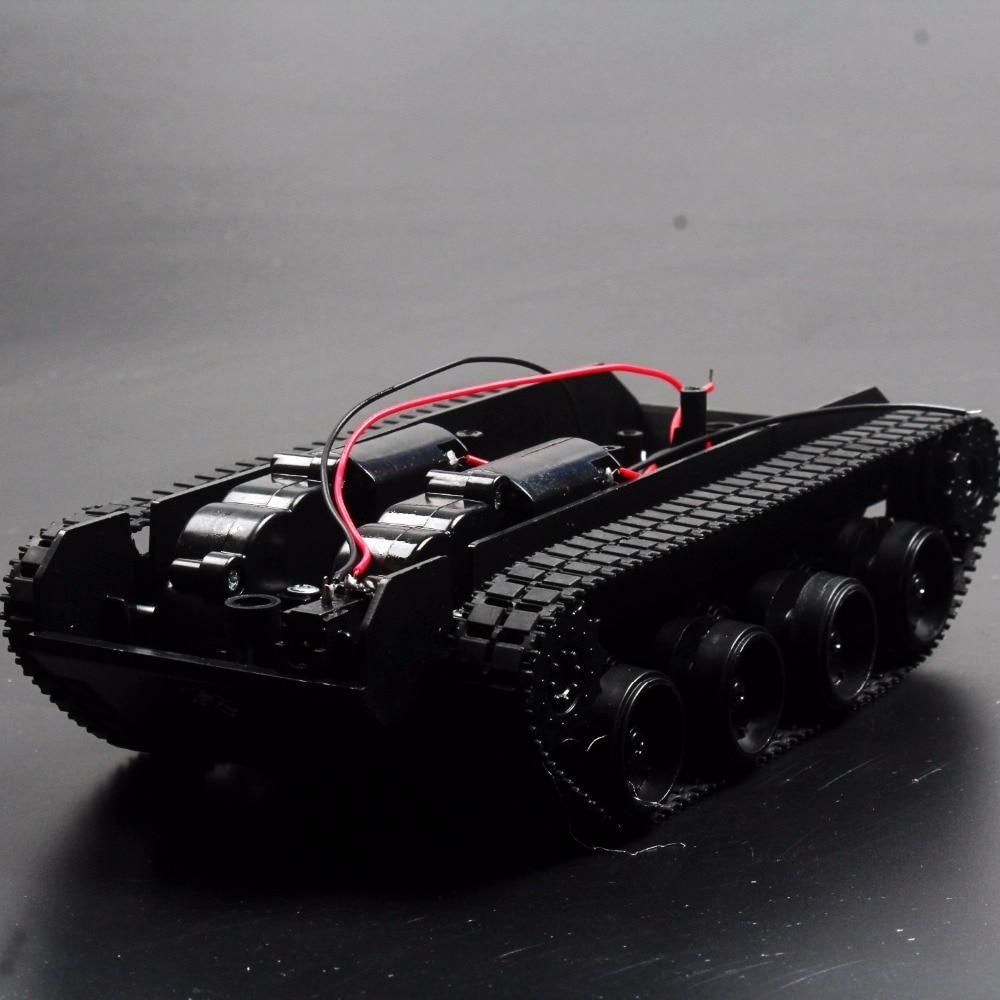 3 6V 130 Motor Smart Car Tank Robot Chassis Platform DIY Shock Absorption For Arduino