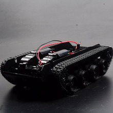 3- 6V 130 Motor Smart Car Tank Robot Chassis Platform DIY Shock Absorption for Arduino