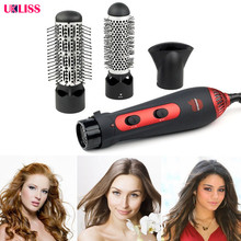 New 3-in-1 Multifunctional Styling Tools Hairdryer Hair Curler Hair Dryer Blow Dryer Comb Brush Hair brush professional 1200w