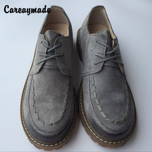 New 2016,Genuine leather shoes,Pure handmade flats shoes,Retro single shoes,British style brush color student shoes,2 color free shipping 2016 new fashion cut outs gauze british style retro brogue shoes girl s shoes genuine leather flats for female