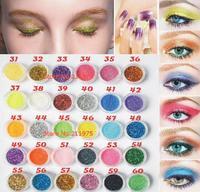 30 sztuk Mieszane Kolory Spangle Glitter Proszku Mineralnego Pigmentu Eyeshadow Makijaż Kosmetyki Zestaw długotrwałe 2016 Losowy Kolor