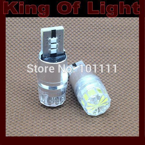 10x canbus Car led 194 W5W high power T10 3W canbus obc error free no error LED Light Bulb Lamp+no polarity Free shipping