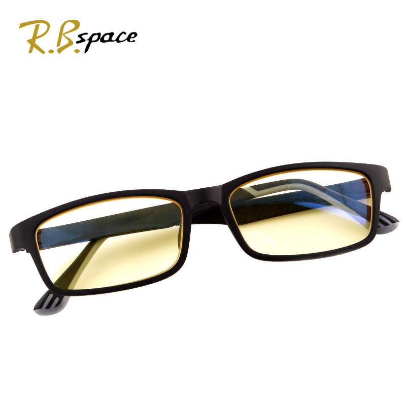 new hot tr90 lens frames fashion design mens womens eyewear glasses pc computer radiation protection in