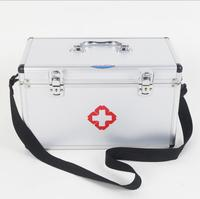 TXJ21 Aluminum Alloy Medical Box Multi Layer Medical First Aid Kit Drug Storage And Portability