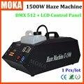 Alta Power1500w hazer máquina generador upspray niebla máquina de humo para la fiesta, la etapa, club