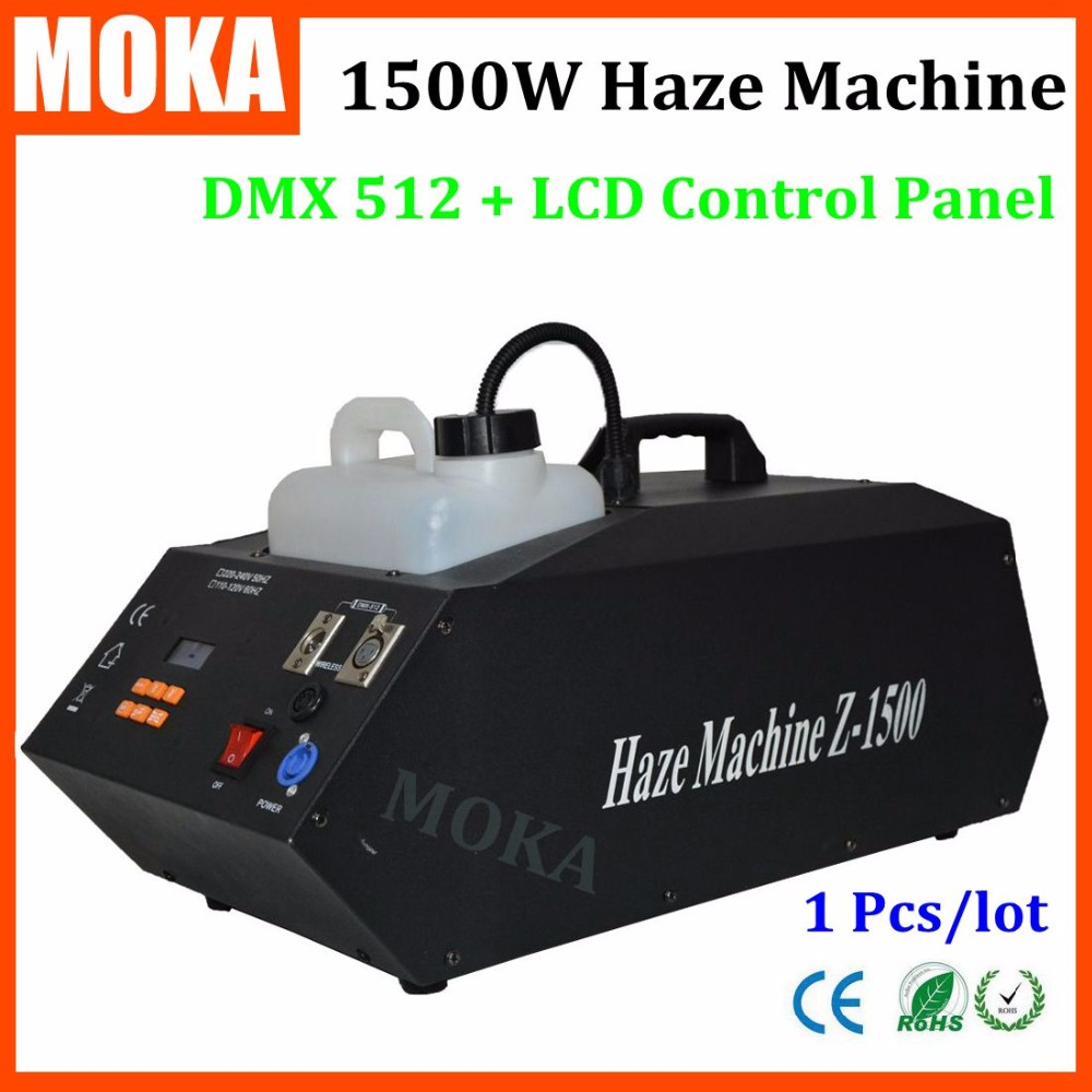 High Power1500w Hazer Machine Fog Generator Upspray Fog Smoke Machine for Party,Stage,Club salter air fryer home high capacity multifunction no smoke chicken wings fries machine intelligent electric fryer
