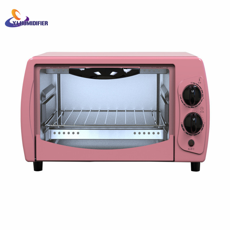 Home Electric Mini Bakery Oven with timer for making bread,  pizza 11L small household Multi-function cake baking oven  3000w stainless steel commercial electric pizza oven with timer 2 layer making bread pizza cake baking oven