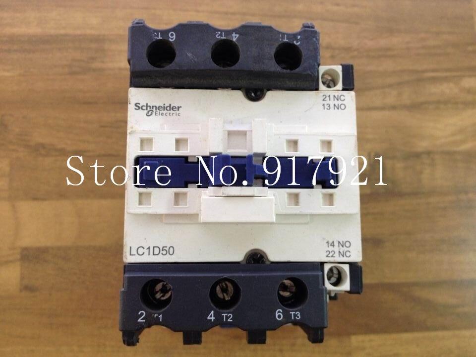 [ZOB] original original of France LC1D50 220V 80A genuine original AC contactor --2pcs/lot