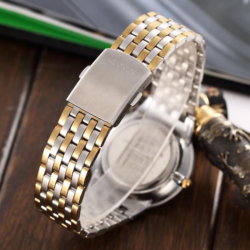 WOONUN Ανδρικά ρολόγια Top Brand Πολυτελή - Ανδρικά ρολόγια - Φωτογραφία 5