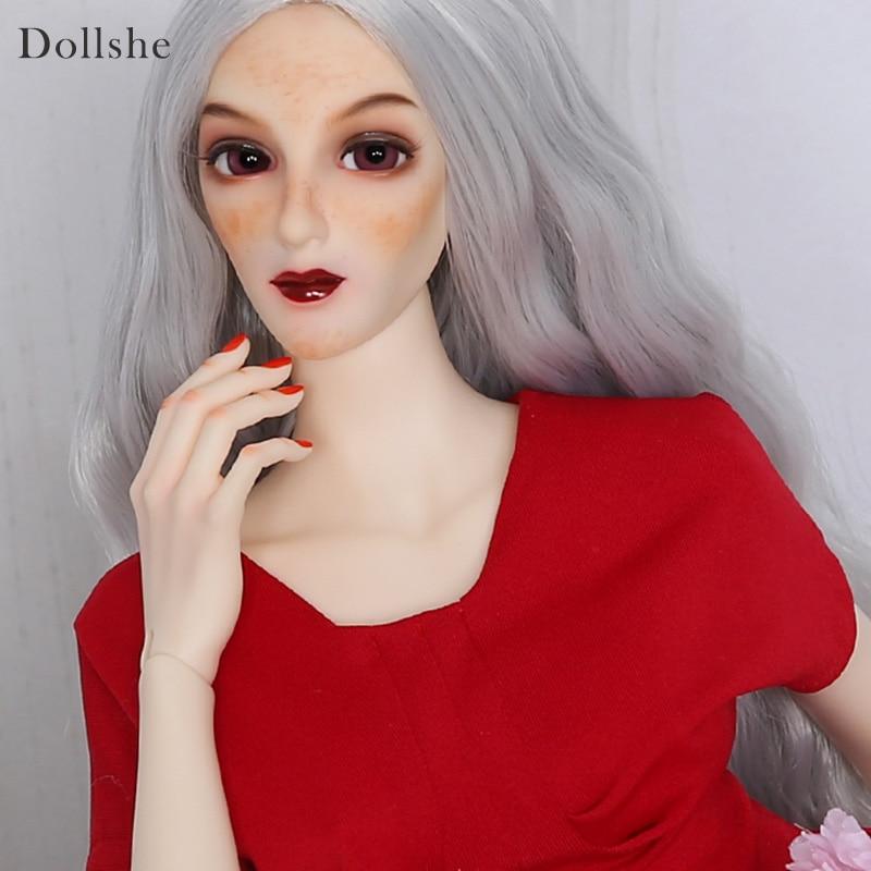 Dollshe craft DS Ausley Love 26F Classic BJD Dolls 1/3 body model boys bjd oueneifs High Quality resin toys shop цена