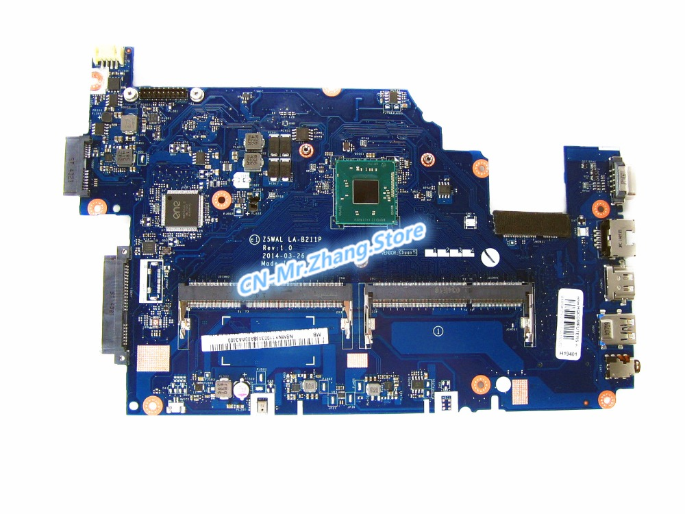 SHELI FOR font b Acer b font Aspire E5 511 Laptop Motherboard W N3540 CPU NBMNY11003