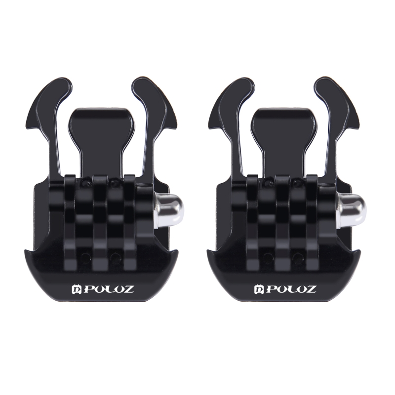2 PCS PULUZ Horizontal Surface Quick Release Buckle for GoPro HERO5 /5 Session /4 Session /4 /3+ /3 /2 /1
