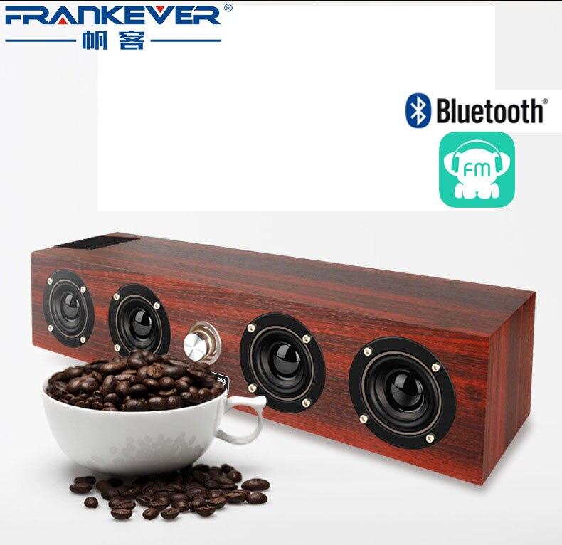 Retro Portable Wireless Home Bluetooth Speaker TF USB