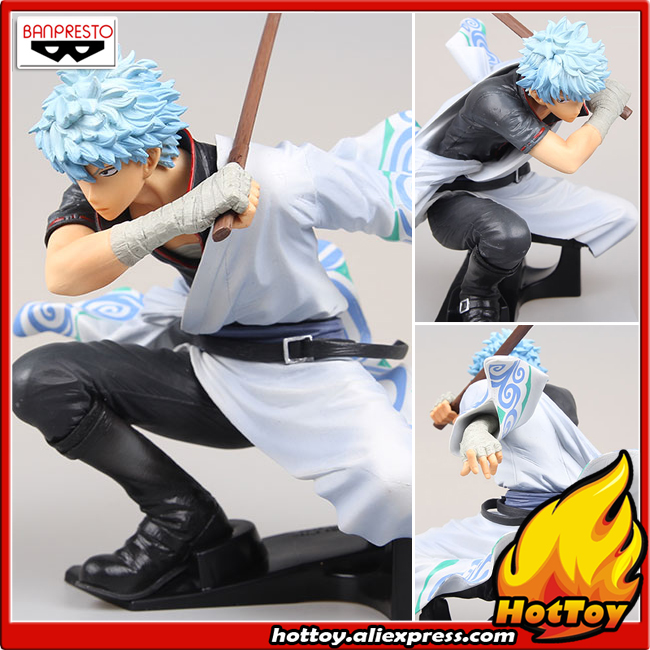 Provided Gintama Sakata Gintoki Figuras Anime Figure Suit Ver Action & Toy Figures Pvc Model Man Gift Children Toys Figma Collectible Action Figures Doll Xp Handsome Appearance