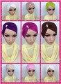 DD14 Muslim Fashion muslim underscarf bieautiful hijabs Waterdrop Rhinestone comfort underwear headband