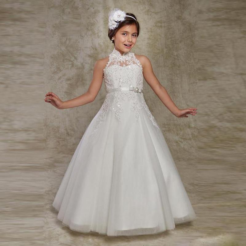 Diamond White Flower Girl Dress Promotion-Shop for Promotional ...
