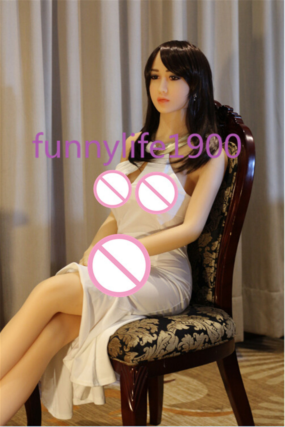 Real <font><b>Silicone</b></font> <font><b>Sex</b></font> <font><b>Dolls</b></font> 165cm For Men Realistic Vagina Anal <font><b>Big</b></font> Breast Lifelike <font><b>Torso</b></font> Head Feet <font><b>Ass</b></font> Masturbator Japanese 158cm image