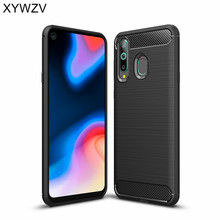 For Samsung Galaxy A8s Case Luxury Armor Rubber Soft Silicone Phone Back Cover Shell