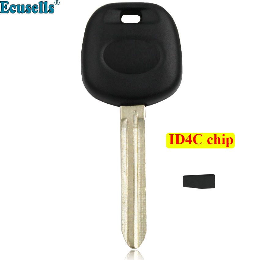 Automobiles & Motorcycles Dynamic 1pc/5pcs Replacement Transponder Ignition Blank Key With Id4c 4c Chip For Toyota Camry Avalon Corolla Rav4 Uncut Toy43 Blade