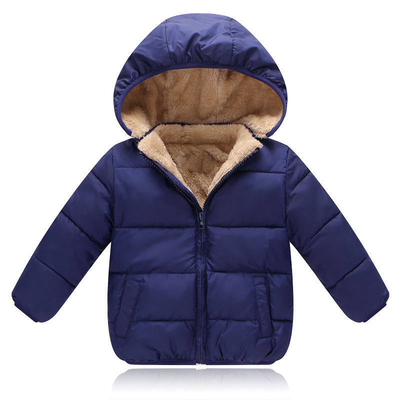 BibiCola Children Outerwear Coat Winter Baby Boys Girls Jackets Coat Infant Warm Baby parkas Thick Kids Hooded Clothes 2017 autumn kids clothes baby boys jackets winter coat corduroy thick warm children boys clothing fashion coat infant boys