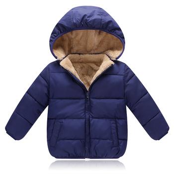 BibiCola dzieci kurtki płaszcz zima Baby Boys Girls kurtki płaszcz niemowlę ciepłe Baby Parkas grube dzieci z kapturem Odzież tanie i dobre opinie Odzież wierzchnia i Płaszcze W dół Parkas Aktywne Regularne Bawełna parki dla dzieci nothing 300g Hooded Unisex Czesankowa