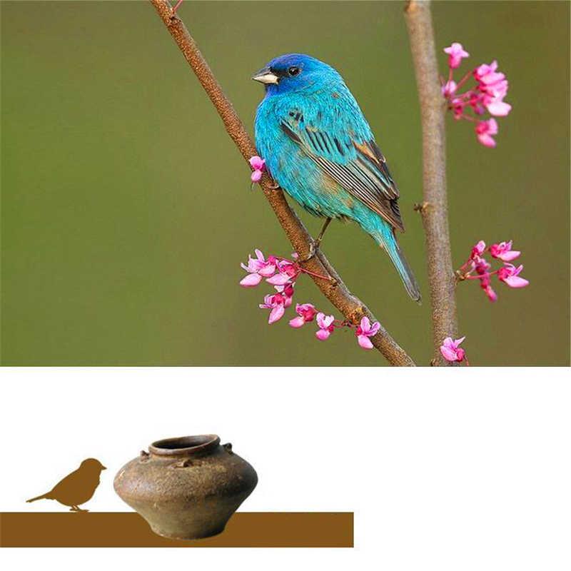 Lotus สนุกจริง 925 เงินสเตอร์ลิงหินธรรมชาติสร้างสรรค์ Handmade Designer เครื่องประดับน่ารัก Retray Bird แหวน Bijoux