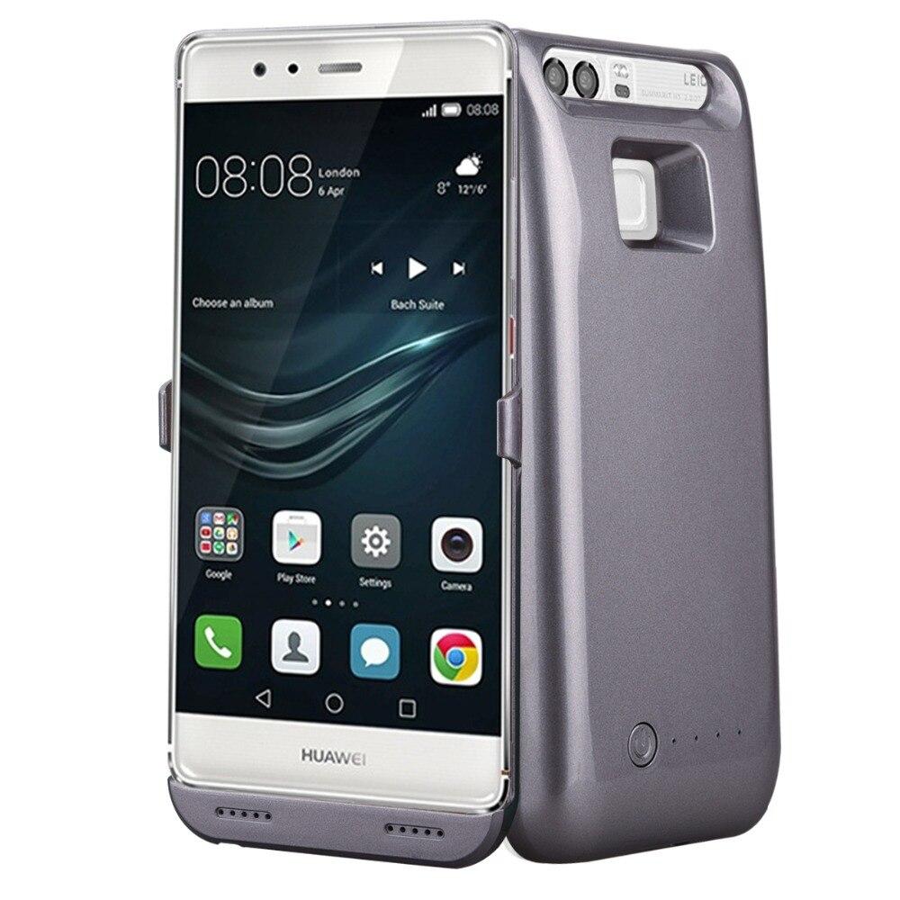 Цена за Внешний Телефон Аккумулятор Зарядное Устройство Чехол Для HuaWei Ascend П9 Случае Мощность банк Резервного Копирования Телефон случае для Huawei Ascend P9 плюс Случае Власть