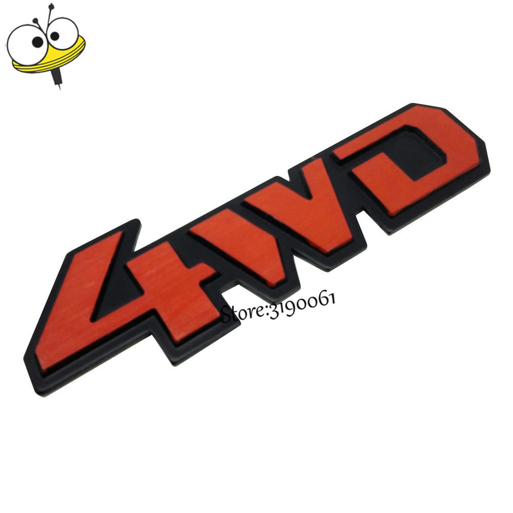Car styling product accessory auto body exteriors decal 4wd logo car styling product accessory auto body exteriors decal 4wd logo car sticker for mitsubishi nissan peugeot volkswagen dodge jeep in car stickers from buycottarizona Gallery