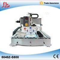 No Tax Mini 6040 Three Axis Cnc Engraving Machine Small 800W Cnc Cutting Machine Engrave Machine