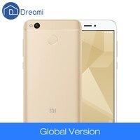 Dreami Global Version Original Xiaomi Redmi 4X 3GB 32GB Snapdragon 435 CE FCC 4100 mAh 5.0 Inch 13MP Camera Cellphone 4 X