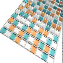 Vinyl Wall tiles Imitate the effect of glass living room mosaic background diamond mosaics 3d tiles kitchen tiles new 2.0 ann for forte production of ceramic tiles