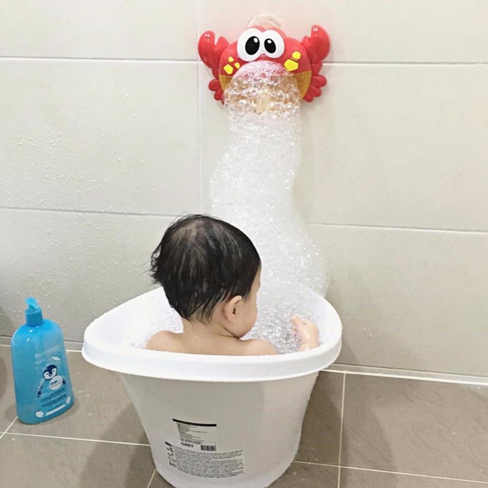 Baby Bath Toys Bubble Crabs Toys For Children Funny Bath Music Bubble Maker Bathtub Pool Swimming