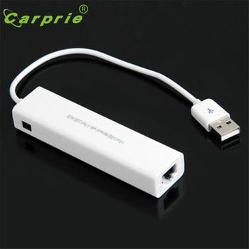 CARPRIE USB RJ45 Lan kart Ethernet ağ kablosu + 3 Port Hub Win 8 7 XP Jan16 MotherLander