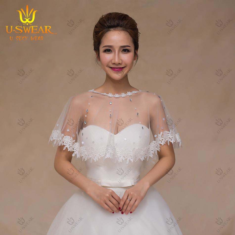 Manche Longue De Mariee Lace Shrugs For Dresses Formal Dress Jackets