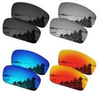SmartVLT 4 Pairs Polarized Sunglasses Replacement Lenses for Oakley Splinter 4 Colors