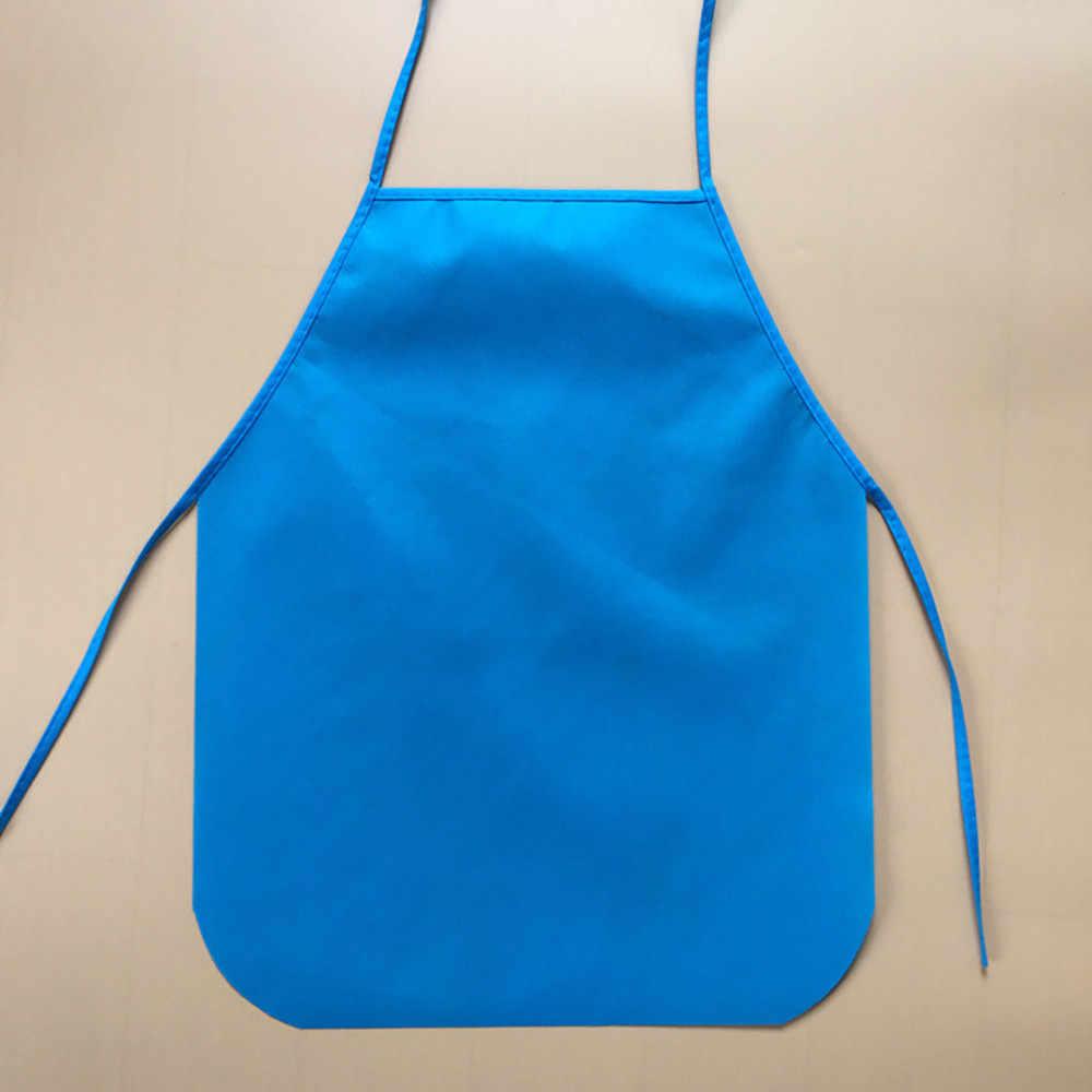 Фартук детский водонепроницаемый мультяшный кухонный кулинарный нагрудник фартук краска Ешьте. Пейте. верхняя одежда фартук дети cocina 0,451