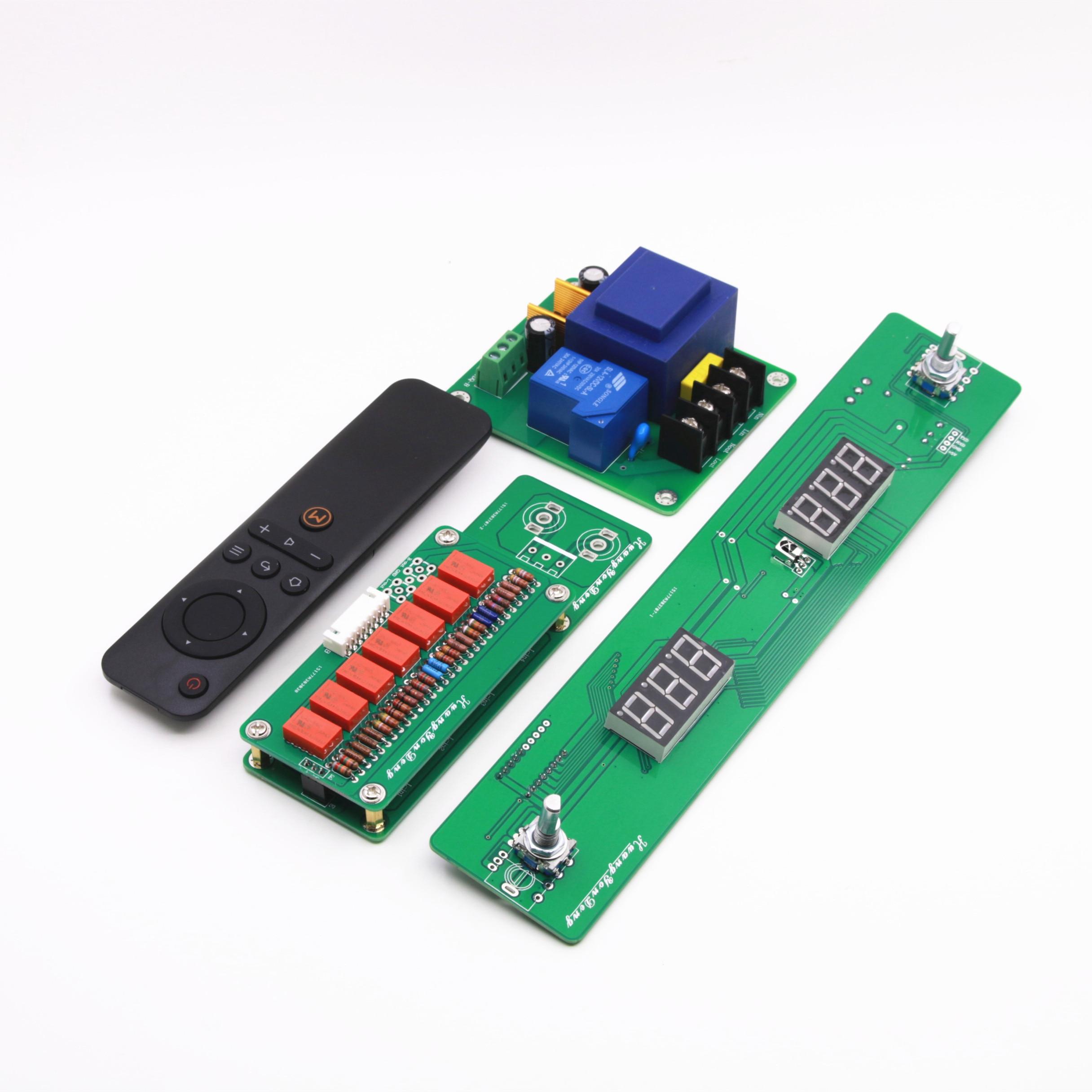 HiFi 128 Schritte Remote Volumen Control Board Relais Reinem Widerstand Shunt DIY Preamp Audio-in Verstärker aus Verbraucherelektronik bei AliExpress - 11.11_Doppel-11Tag der Singles 1