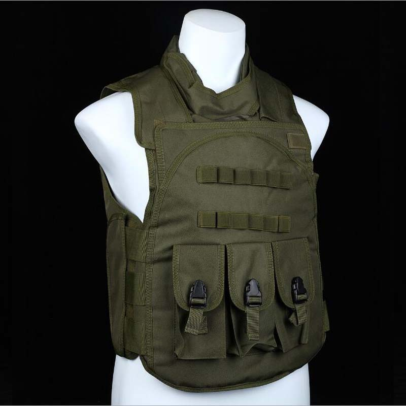 Nylon Military Equipment Tactical Vest Army Paintball Airsoft Hunting Vest Outdoor Sport Combat Protective Vest For CS Wargame