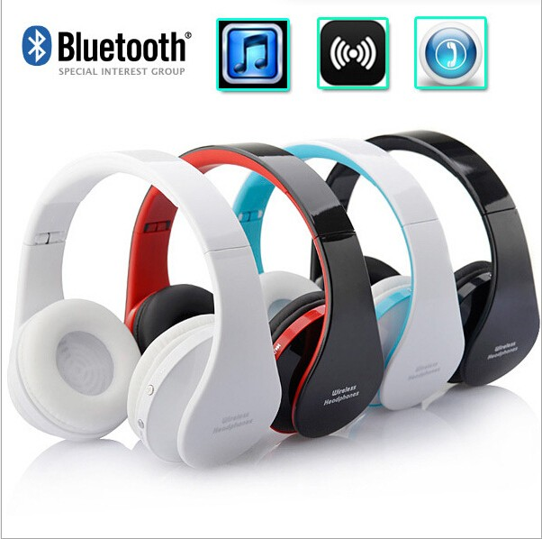 Blutooth Wireless Headphone Big Casque Audio Cordless Headset Auriculares Bluetooth Earphone For Computer Head Phone With Mic