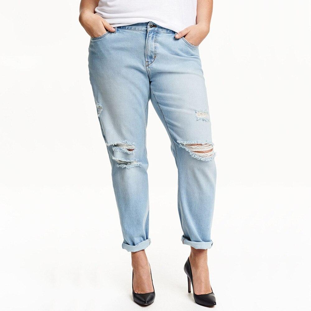 Kissmilk Plus La Taille Nouveau Mode Pour Femmes Casual Solide Jeans Femelle Bouton Long En Jeans 3XL 4XL 5XL 6XL babymoov