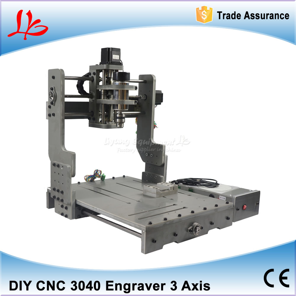Mini CNC Milling Machine CNC 3040 With 300W Spindle, Working Area 400*300mm, Mach3 Control CNC Router for Woodworking cnc 5axis a aixs rotary axis t chuck type for cnc router cnc milling machine best quality